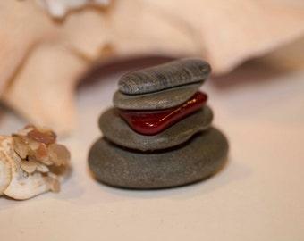 Cairn, Miniature Stone Cairn, Spiritual Cairn, Unisex Gifts, Desktop Cairn