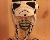 Made to Order Crochet NEWBORN Storm Trooper