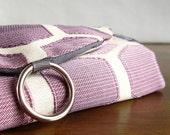 Earring Organizer. Gift Travel Lover. Purple Ombre Hexagons Jewelry Travel Organizer. Travel Gifts for Women. Overnight Bag. Hostess Gift