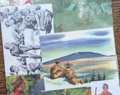 The Boy Scouts Go Camping Vintage Collage, Planner and Scrapbook Kit Number 2098