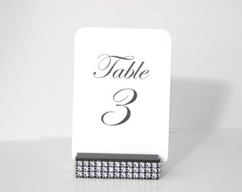 Table Number + Table Number Cards + Wedding Table Number Cards