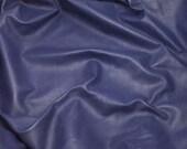 ON SALE BLUE Purple Lambskin Hide Leather Piece #1
