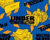 Tonka Under Construction Fleece No-Sew Blanket