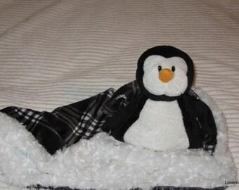 Security Blanket - lovie - woobie - luvi - Penguin - Lovems