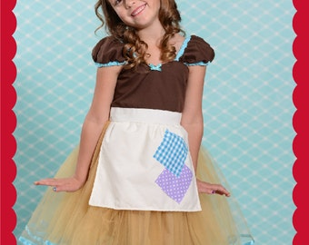 CINDERELLA dress, Cinderella costume, Cinderella Work dress  Cinderella dress costume apron dress baby costume
