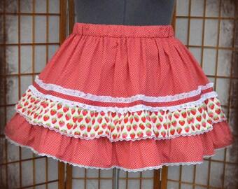 Polkadot lolita skirt