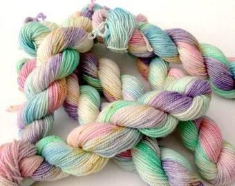 CELESTIA Mini Skeins - Hand Dyed Yarn - High Twist Sock Yarn Fingering - Ready to Ship - Vivid Yarn Studio