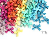 20pc cute metal bow charms / choose your colors / enameled charms for making diy jewelry