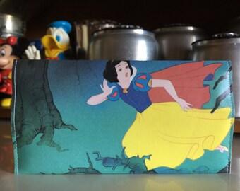 Snow White Disneyland Map Clutch