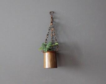 Handmade Solid Copper Hanging Pot