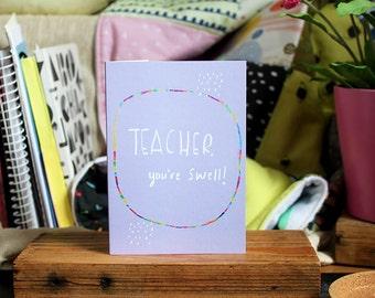 Teacher card cc151  SALE +++++