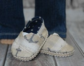 Slip on shoes, made to fit, 18 inch doll, doll shoes, doll clothes, boy shoes