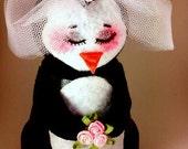 The Pot n' Penguin bride penguin