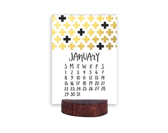 2017 Letterpress Calendar *Refill*