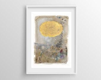 Abstract Painting Giclee Print nº 1, Fine Art Print, Watercolor print, Abstract art, Original Painting, Giclee art print, 8x12,12x16,16x24