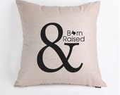 State Wedding Gift Pillow Cover Pillow Case