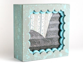 Wood + Clay Shadowbox