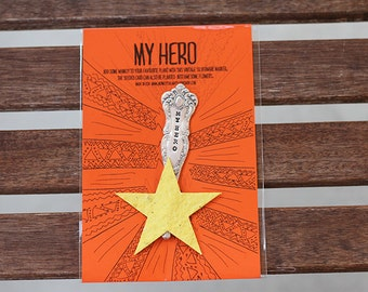 My Hero Wildflower Seed Paper Kit (E0564)