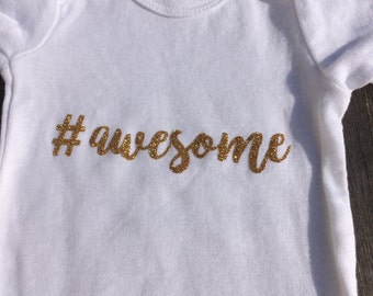Awesome Baby Onesie--#awesome