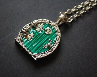 hobbit hole necklace