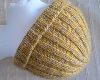 Unisex Tweed Ribbed Hat