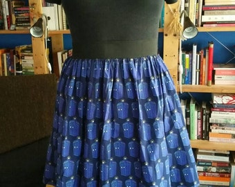 The Doctor Skirt with Pockets - Size 2XL