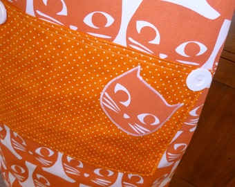 Apron  Orange Kitty (626