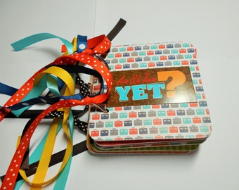 Vacation Mini Scrapbook Album, Vacation Scrapbook Album, Vacation Mini Album,  Vacation Photo Album, Are we there yet, vacation