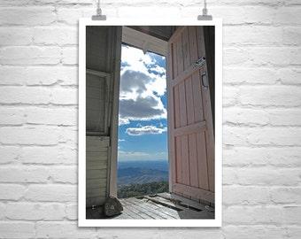 Surreal Photography, Arizona Gift, Borderlands, Door Art, Mexico, Murray Bolesta, Landscape Art, Tucson, Fine Art Photograph, Canvas Art