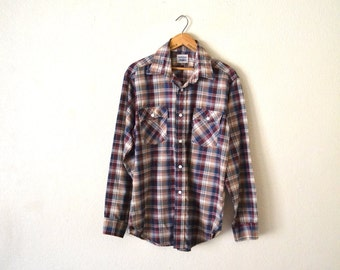 1980's Levis Button-Up Western Shirt