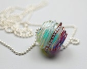 Lampwork Glass Bead // Murano Glass Jewelry // Lampwork Bead // Glass Charm