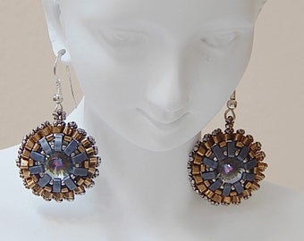 Sparkly Wheel (Classic) Earrings