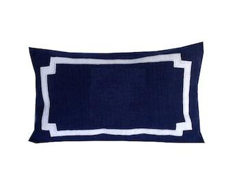 Long Lumbar Pillows, Long Bedroom pillow cover, Long Designer Pillows, Decorative Bedroom Pillow Cover