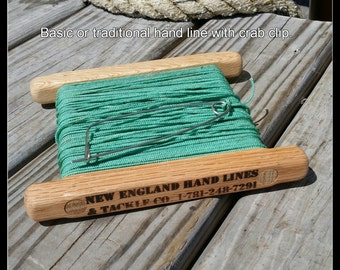 Fishing Hand Line - Drop Line - Great for Blue Crabs Flounder Mackerel Cod Bass Pike Muskee and any other fish