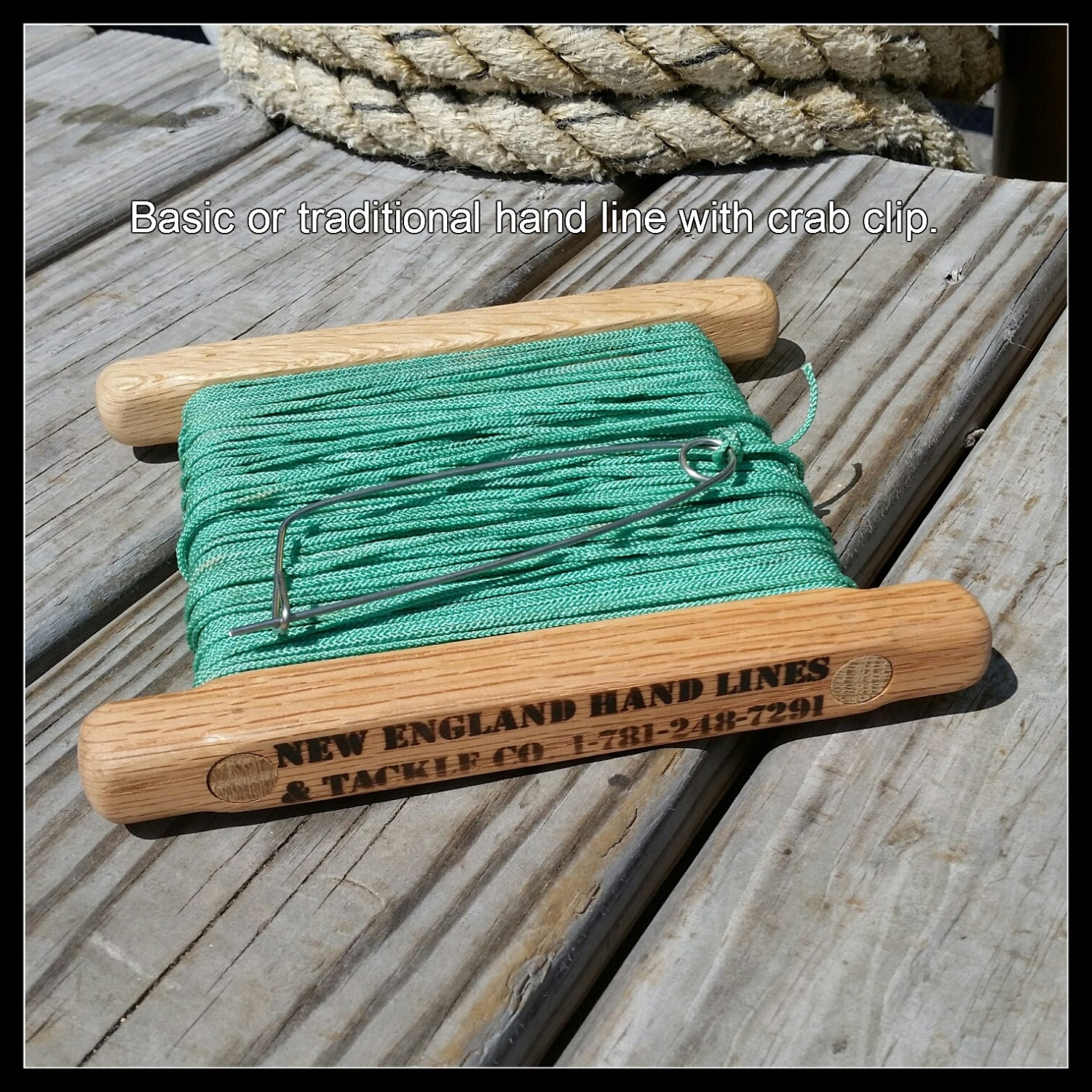 Fishing hand line drop line great for blue crabs for Hand line fishing