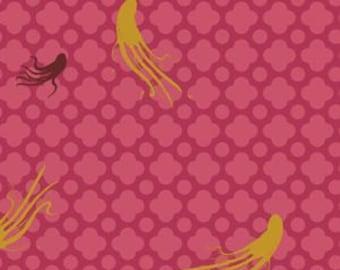 Large Octopus Pink - Heather Ross MENDOCINO 2016 - Windham Fabrics