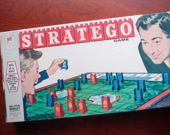 Statego - Classic board game - 1961 - complete - very good condition