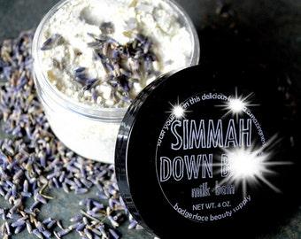 Lavender Milk Bath Soak. Natural Bath Product. 4 oz / 120 mL. Simmah Down B*tch. Skin Care. Bath Milk. Oatmeal Milk Bath. Milk Bath.