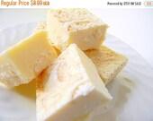 BIRTHDAY SALE Julie's Fudge - Holiday EGGNOG - Half Pound
