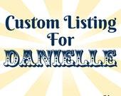 Custom Wedding Invitations - Danielle & Michael