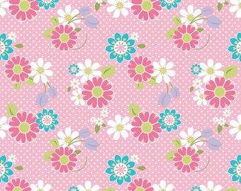 Dream and a Wish Floral by Sandra Workman Designs for Riley Blake Cottons - 1 Yard