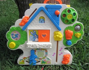 Vintage Fisher Price Musical Crib Activity Center