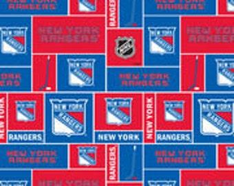 Handmade Checkbook Cover ~ New York Rangers