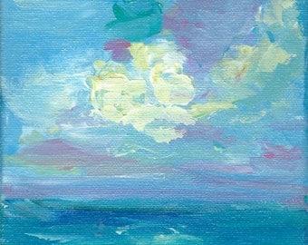 Ocean Painting   Vitamin Sea small ocean art