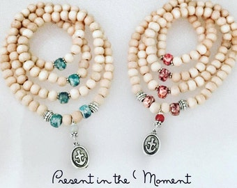 PRESENT in the MOMENT - Mala Beads
