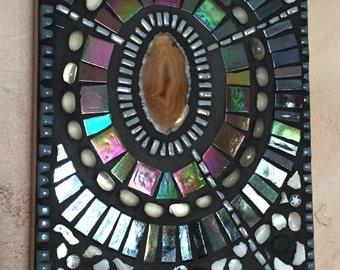 "Mosaic Art Emanations Series Piece 5""x7"""