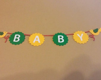 Baby Banner  1 to a set