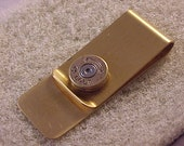 Bullet Money Clip 45 Colt Brass Shell