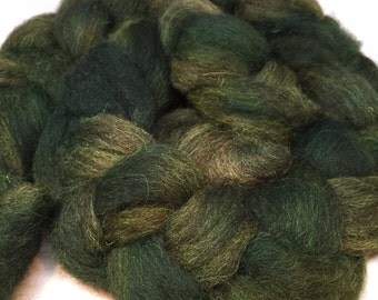 Deep Forest - 4oz - 114g - Combed Shetland Top