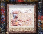 Black History Sale Strength and Grace 36 x 36 inch quilted wallhanging